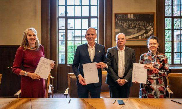 Rotterdam en BMW onderzoeken samen de toekomst van mobiliteit